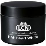 Гель белого цвета для френча - FM Pearl White, 15 мл