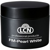 Гель белого цвета для френча - FM Pearl White F, 15 мл (густой)