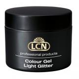 Цветные гели с легким сиянием - Light Glitter Colour Gel, 5 мл