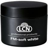 Гель розовато-белого оттенка для френча - FM Soft White, 15 мл