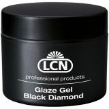 Запечатывающий гель с алмазной крошкой - Glaze Gel Black Diamond, 10 мл