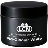 Белоснежный гель для френча - FM Glacier White, 15 мл